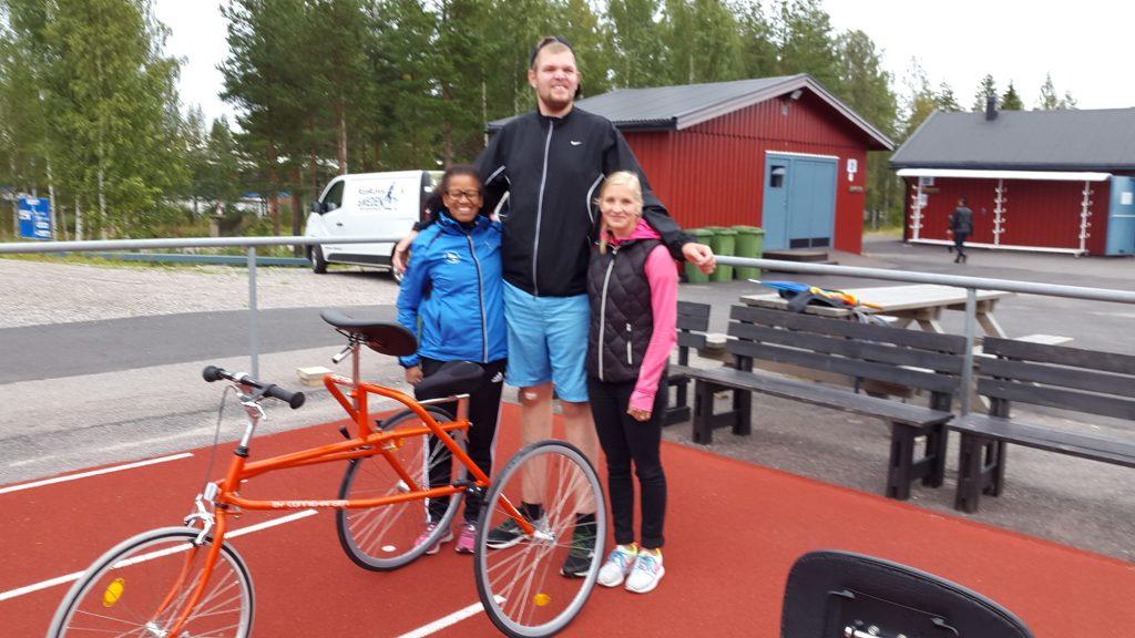 Kathleen Persson, Kristoffer Westrin och Elin Lund Jonsson